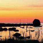 Päikeseloojang Käsmu rannal